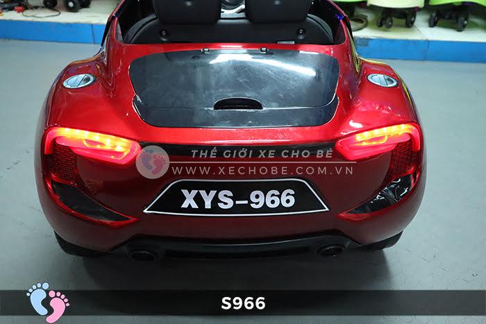 Xe ô tô điện cảnh sát XYS-966 23
