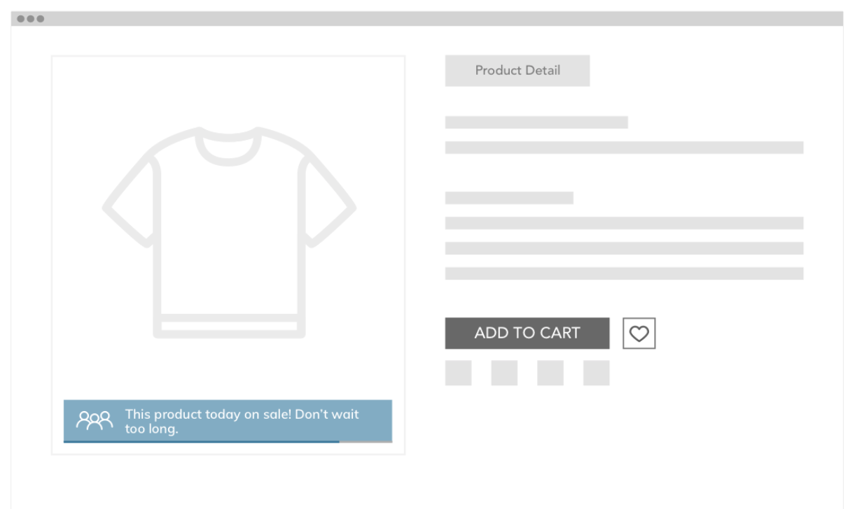 ecommerce product badging for data-driven CX notifications