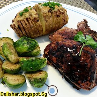 Balsamic Glazed Chops
