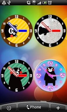 くまモンのアナログ時計のおすすめ画像3