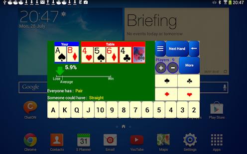 Poker Odds Calculator Free - screenshot thumbnail