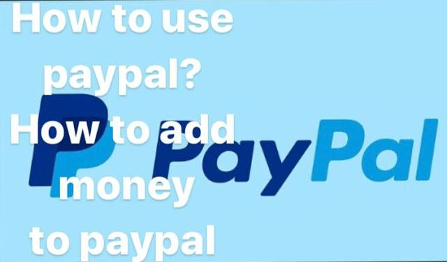 how to use paypal?