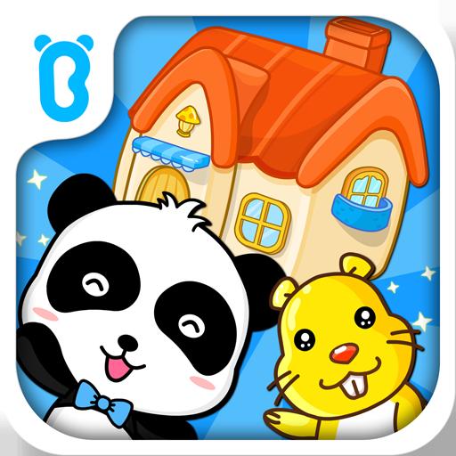 Baby Panda House Building