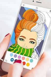 Colorflow: Adult Coloring & Mandala Screenshot
