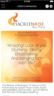 Sacred Muse: Daily inspiration- screenshot thumbnail