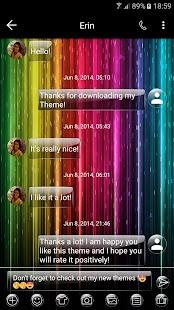G Rainbow SMS Zprávy - náhled