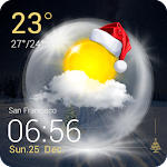 Christmas Weather Widget 1.1 Apk