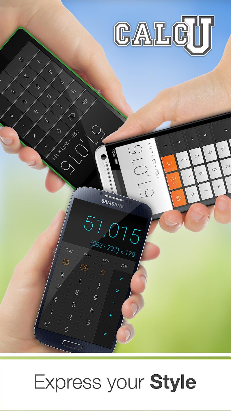 CALCU™ Stylish Calculator Free Screenshot 2