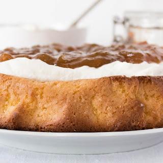 Rhubarb And Cream Cake