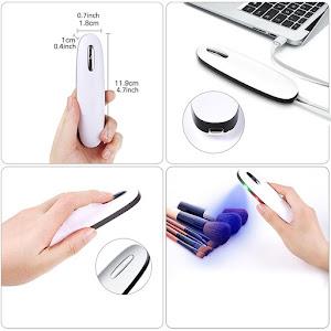 Sterilizator portabil cu lumina UV, acumulator integrat