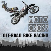 Motocross off-road bike racing