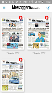 Messaggero Veneto- screenshot thumbnail