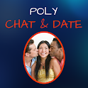 Poly Chat & Date icon