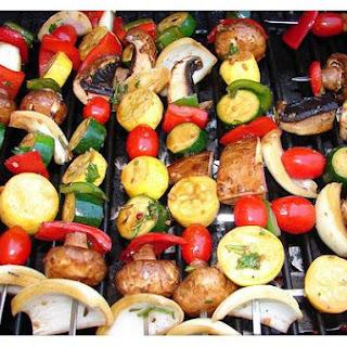 Marinated Grilled Veggies