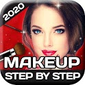 Make Makeup Step by Step in English Free icon