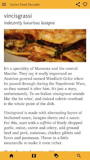 Italian Food Decoder screenshot 2