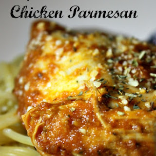 Slow Cooker Chicken Parmesan.