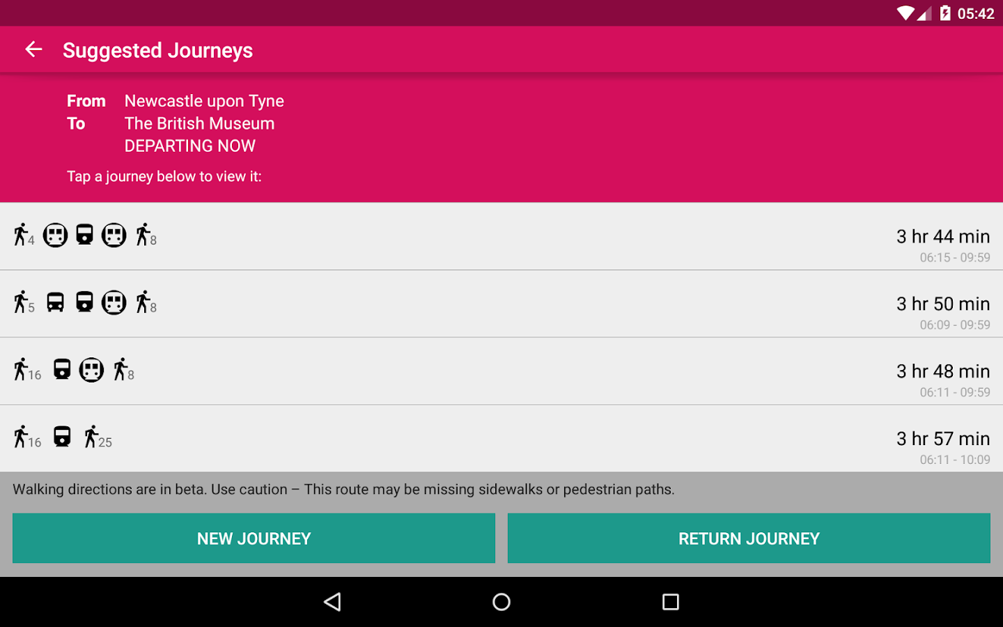 UK Bus Checker- screenshot