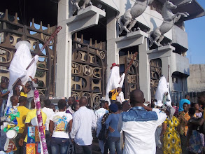 Photo: Entrance of Tafawa Balewa Square