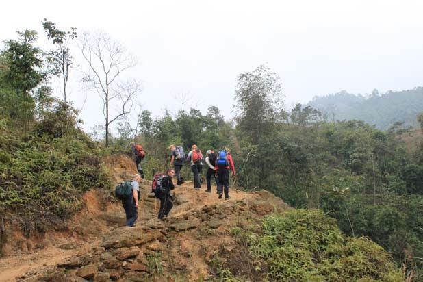 Ascension du  mont de Fansipan