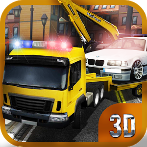 Tow Truck: Police Transporter for PC and MAC