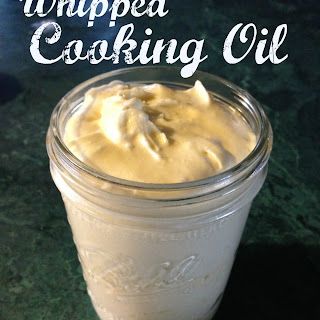 Whipped Cooking Oil