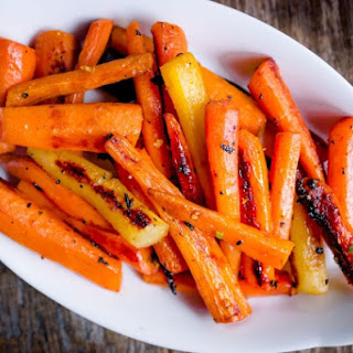 Honey-Ginger Roasted Carrots.
