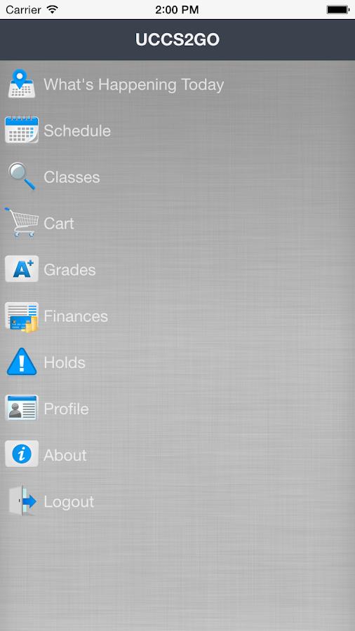 UCCS2GO- screenshot