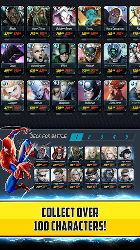 MARVEL Battle Lines 1.1.7 gameplay | by HackJr.Pw 12