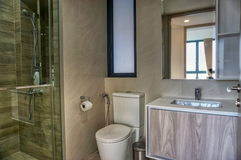 Bathroom at Gateway Drive Apartments, Jurong