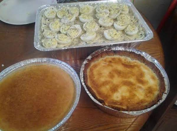 This The Desserts That I Do Cheesecake And Flans