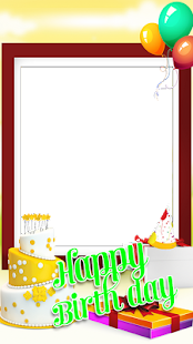 Birthday Wishes Photo Frame - náhled