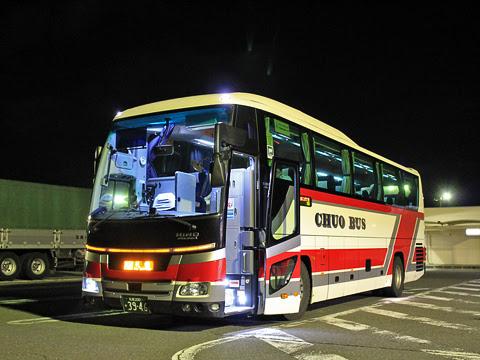 道南バス「高速はこだて号」 3946 有珠山サービスエリアにて その1