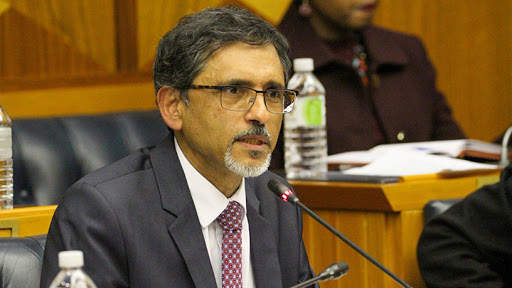 Minister of trade, industry and competition Ebrahim Patel.