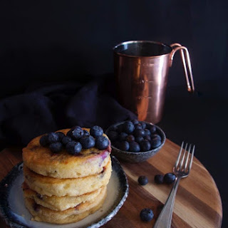 Fluffy Spelt Pancakes with Blueberry and Coconut Milk, Part Two Recipe