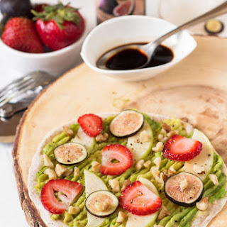 Sweet & Salty Avocado Breakfast Pizza