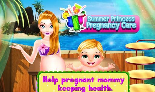夏天公主怀孕护理