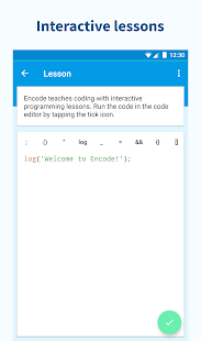 Encode: Learn to Code Screenshot