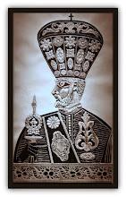 Photo: Antonio Berni El religioso armenio 1964. Xilocollage. Matriz xilográfica: 82,6 x 46,7 cm. Estampa: 91 x 54 cm. Colección particular, Buenos Aires. Expo: Antonio Berni. Juanito y Ramona (MALBA 2014-2015)
