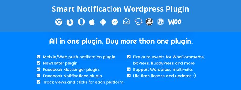 Thông báo thông minh Plugin WordPress cao cấp