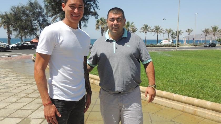 Edgardo Lasalvia estuvo en julio en Almería.