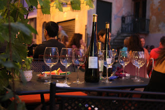 Photo: Argegno wine time