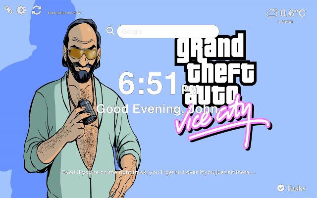 GTA Vice City Wallpapers HD New Tab
