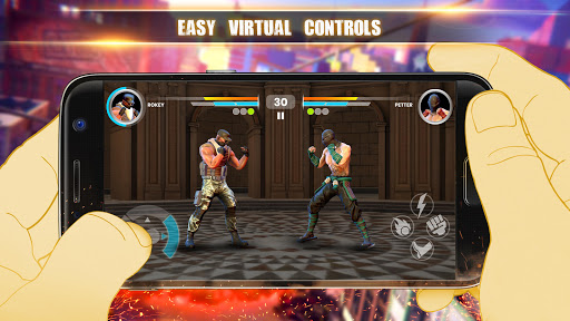 Deadly Fight : Classic Arcade Fighting Game modavailable screenshots 6