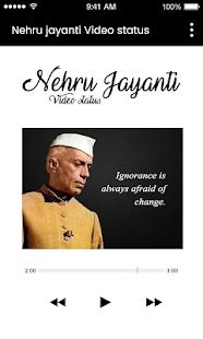 Nehru jayanti video status - náhled