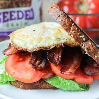 B.E.L.T. Bacon Egg Lettuce Tomato Sandiwch
