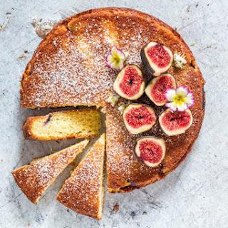 Fig And Semolina Cake.