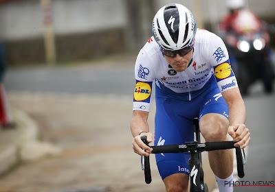 Rémi Cavagna gaf alles in zijn poging om voorop te blijven