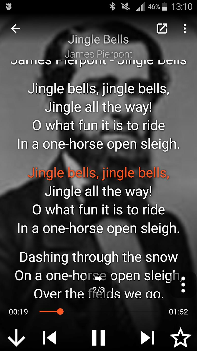 Lyra - Lyrics Music Player and Karaoke Screenshot 1