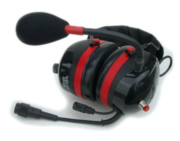 MicroAvionics MP001 - Stereo Paramotor Headset With Side Tone
